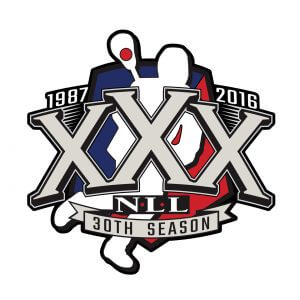National Lacrosse League 30th Anniversary Pin