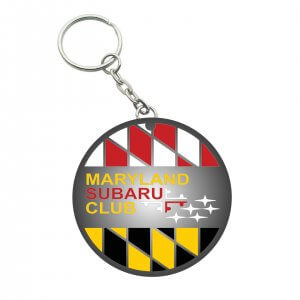 Maryland Subaru Club Key chain Side 1