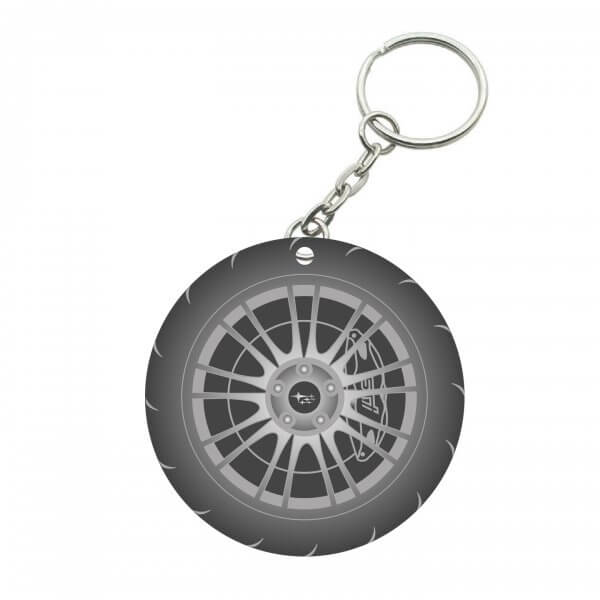 Maryland Subaru Club Key chain Side 2