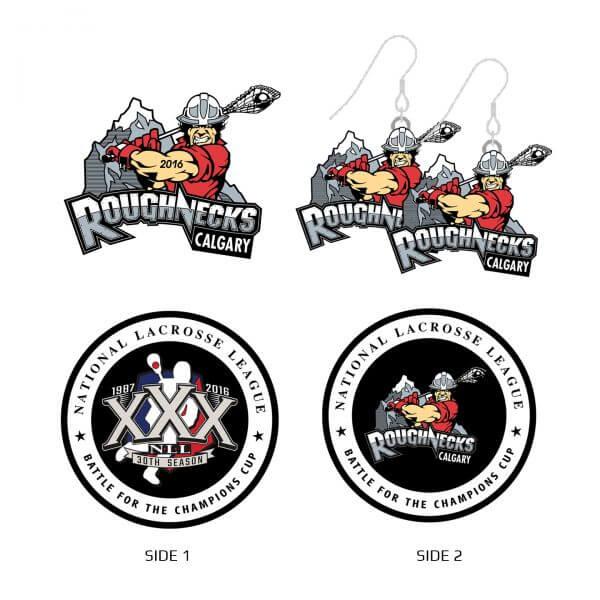 Calgary Roughnecks Collector Set
