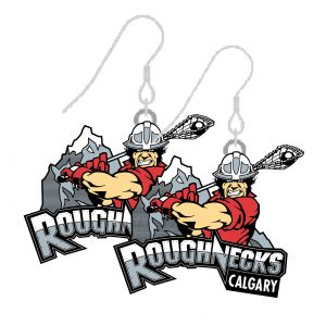 Calgary Roughnecks Earrings