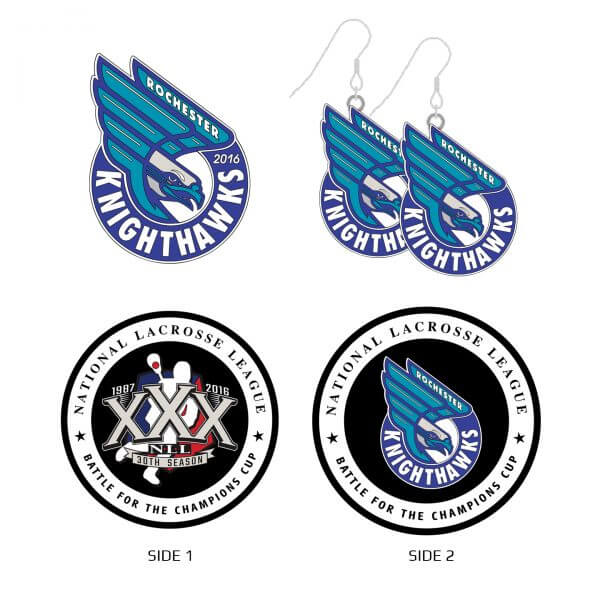 Rochester Knighthawks Collector Set