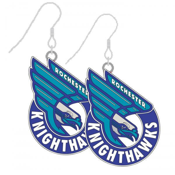 Rochester Knighthawks Earrings