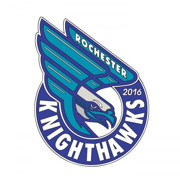 Rochester Knighthawks Pin