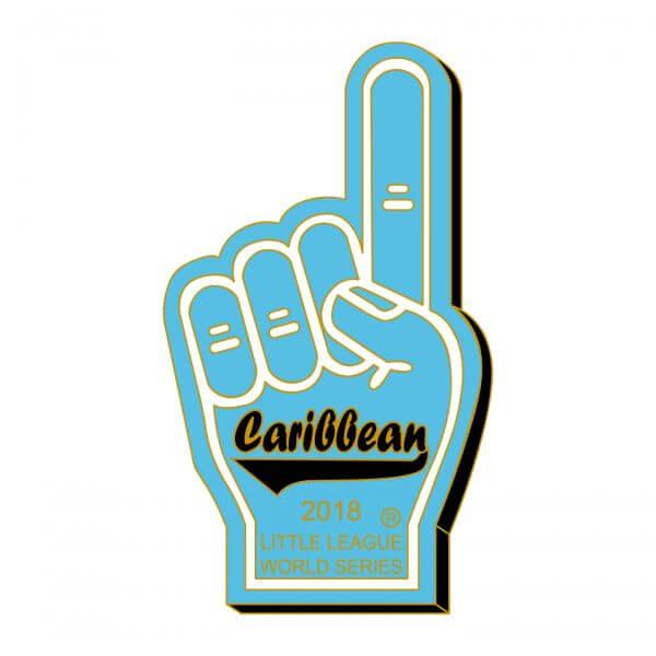 Foam Finger Caribbean