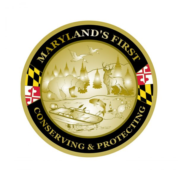 MD Natural Resources Police Coin Back