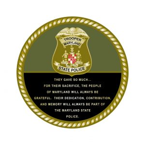 MD State Police Coin