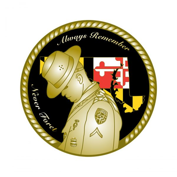 MD State Police Coin Back