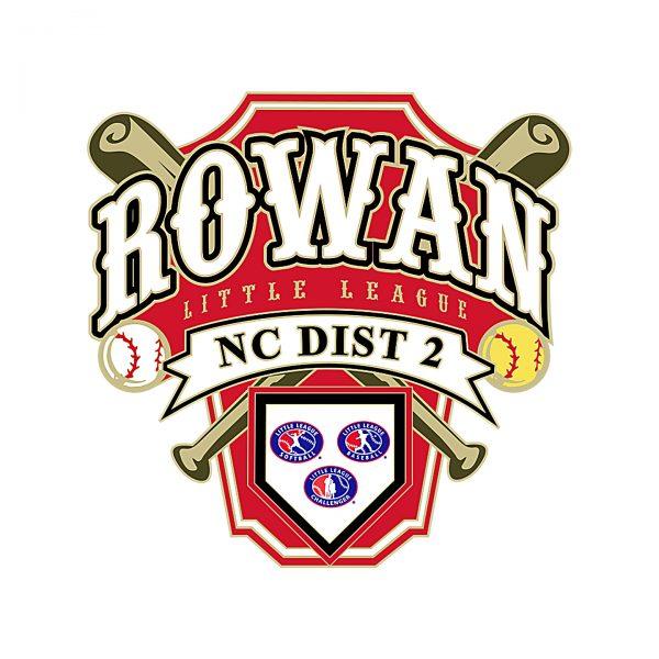 Rowan Little League Pin