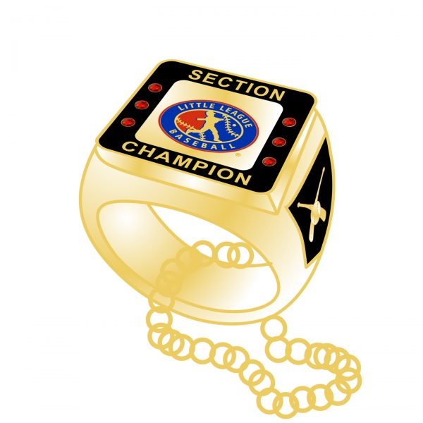 Little League Baseball 3D Ring