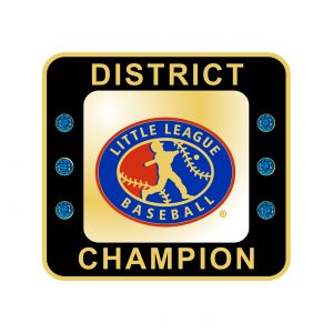 Little League Baseball District Ring