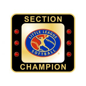 Little League Softball Section Ring