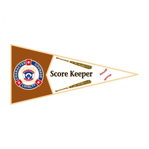 Little League Pennant Pin Score Keeper