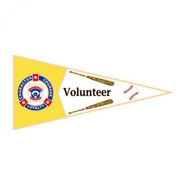 Little League Pennant Pin Volunteer
