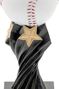 Baseball Twister Resin Trophy