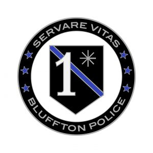 Bluffton Police Coin