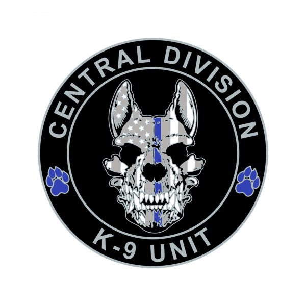 Central Division K9 Coin