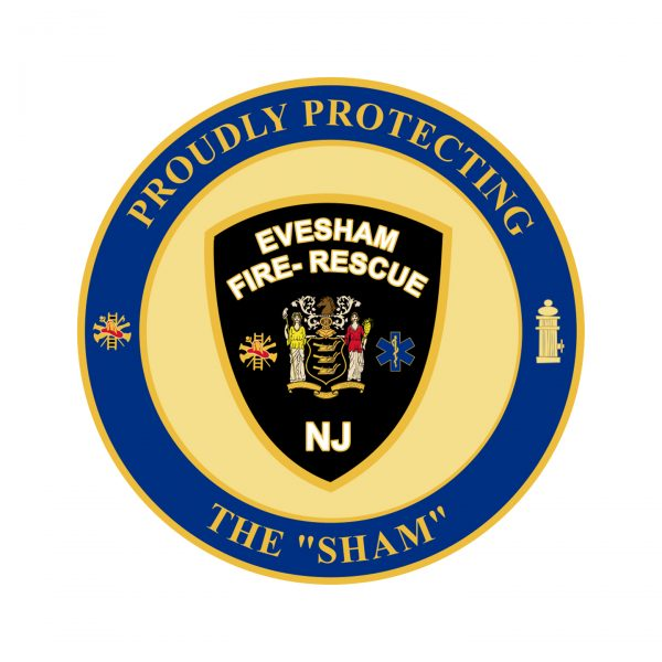 Evesham Township Coin Back