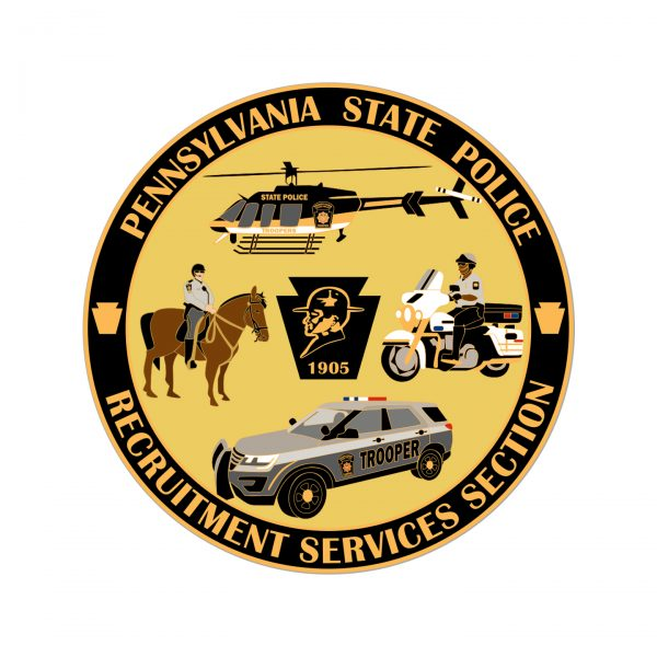 PA State Police Inclusion Coin Back