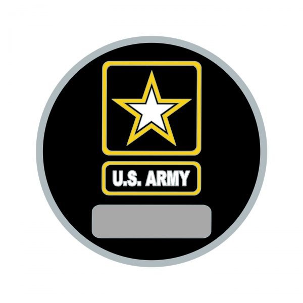 US Army Romeo Coin Back