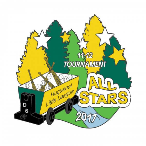 11-12 Tournament All Stars Pin