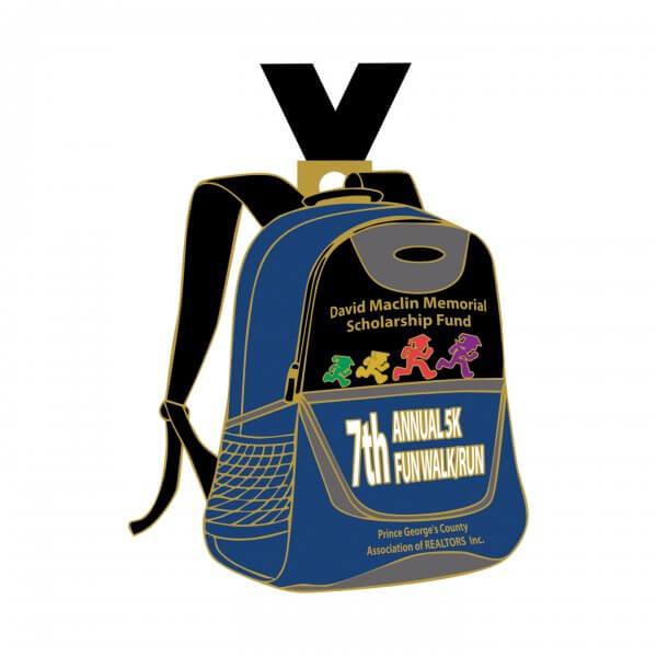 7th Annual 5K Fun Walk Run Medal