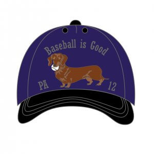 Baseball Is Good Cap Pin