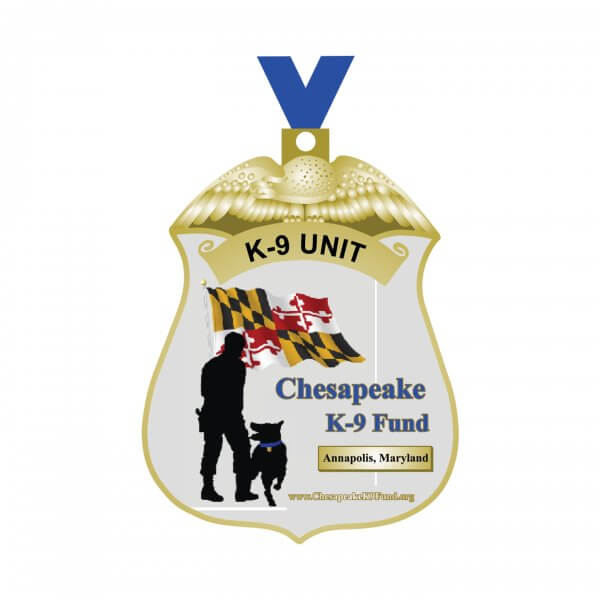 Chesapeake K9 Unit Medal