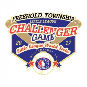 Freehold Township Challenger Game Pin