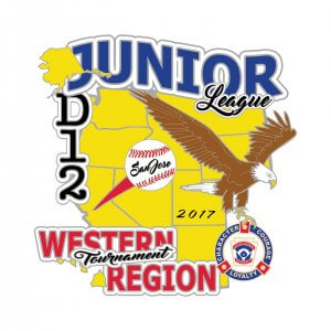 Junior League Western Regional Pin