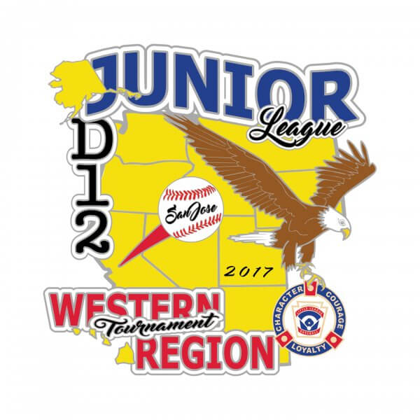 Junior League Western Regional Pin