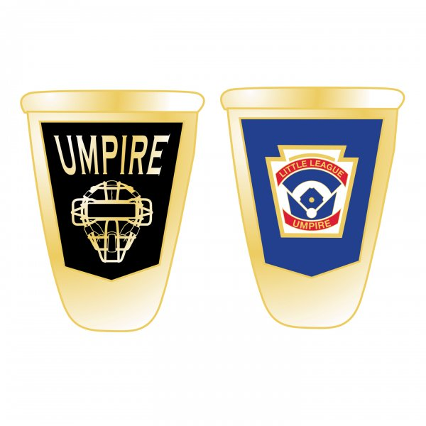 Little League Baseball Ring Umpire Sideview