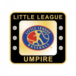 Little League Baseball Umpire Ring