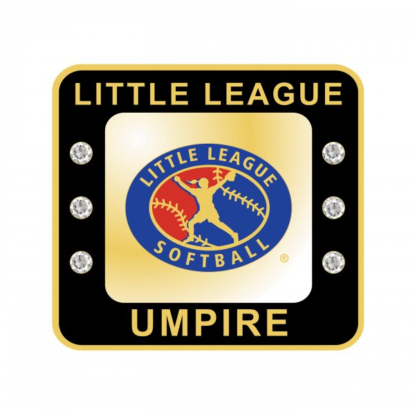 Little League Softball Umpire Ring