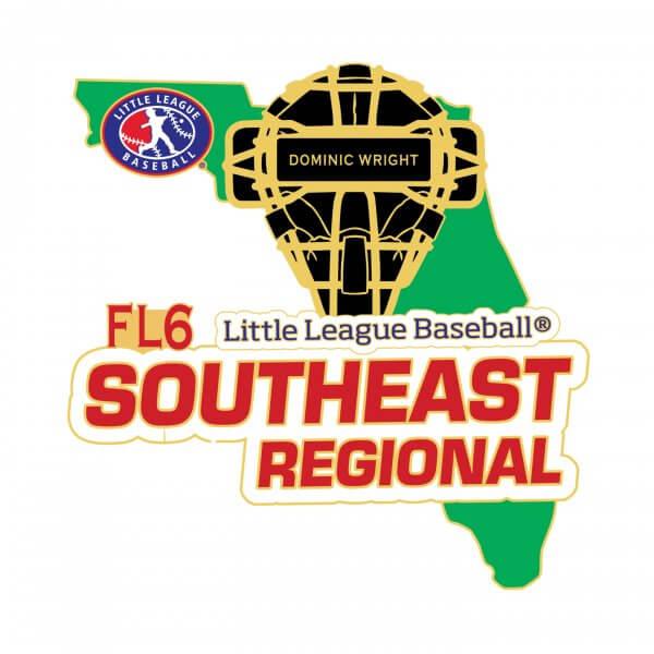 Little League Southeast Regional Pin