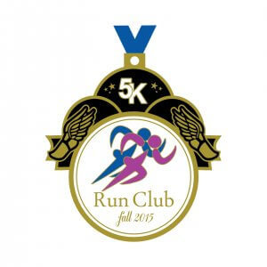 Run Club 5K Medal
