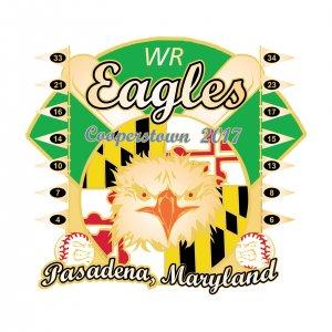 WR Eagles Pasadena Maryland Pin