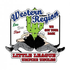 Western Region Little League Umpire Uncles Pin