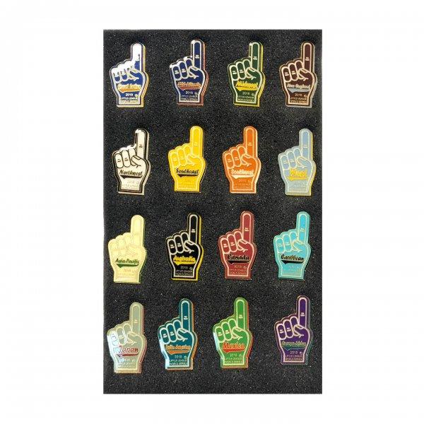 Foam Finger Pin Set