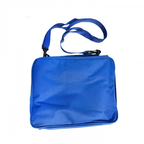 Blue Pin Bag