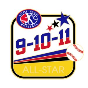 Baseball 9-10-11 All-Star Pin