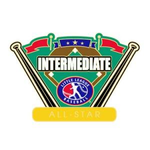 Baseball Intermediate All-Star Pin