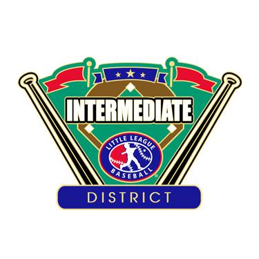 Baseball Intermediate District Pin