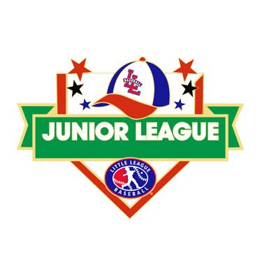 Baseball Junior League All Purpose Pin