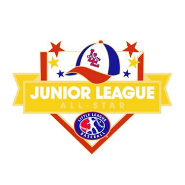Baseball Junior League All-Star Pin