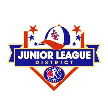 Baseball Junior League District Pin