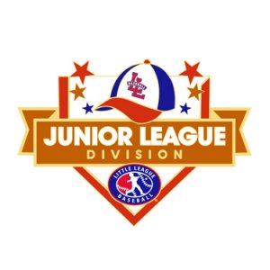 Baseball Junior League Division Pin
