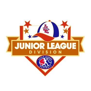 Baseball Junior League Division Pin