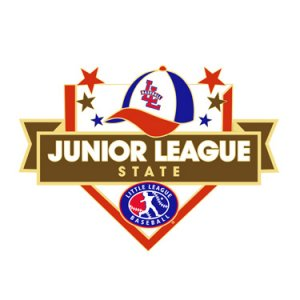 Baseball Junior League State Pin
