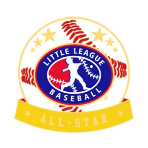 Baseball Little League All-Star Pin